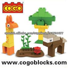 COGO DIY construcción ladrillos Médium 37PCS lojas de brinquedos