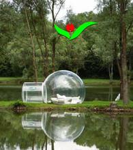 2014 inflável ao ar livre barraca inflável transparente tenda bolha