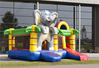 2015 durable hot selling inflatable elephant bouncy castle