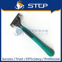 Тройной лезвие из нержавеющей стали щебень ручка одноразовая бритва большой