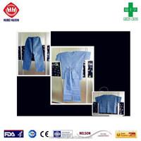 Medical pyjamas with V Neck for hospital