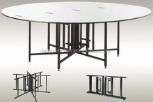 wholesale hotel furniture elegant modern dining room tables /round dining table
