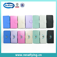 Mobile Case Leather Material 360 Degree Rotation Universal Flip Cover