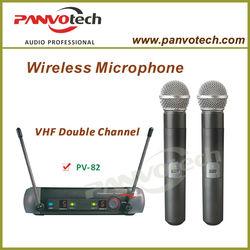 Panvotech PV-82 Professional Single Channnel wireless microphone / cheap wireless microphone