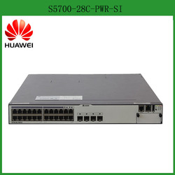 Low Cost Huawei S5700-28C-PWR-SI Gigabit Layer 3 Ethernet switch for enterprise
