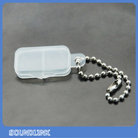 Cheap hearing aids transparent battery case for holding hearing aids battery