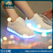 Wholesale fashion lighting led shoes Popular adults led shoes men CE Certificate Rosh report