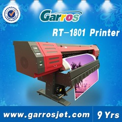 Digital banner printing machine price with printheads DX-5,large format 1.80 M