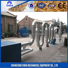 hot air flow wood sawdust dryer with low consumption