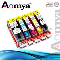 Refillable Ink Cartridge PGI525/CLI526BK/C/M/Y/G for Canon empty inkjet cartridge for Canon