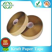 2015 Wholesale Water Activated Kraft Paper Gummed Tape For Carton