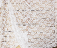 New style stretch lace cloth skirt suit white gauze curtain fabrics