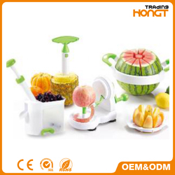 Hand-Powered Food Chopper One-Touch Electric Chopper, White
