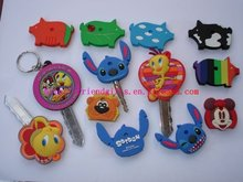 Personazed novel custom 3D soft pvc/rubber/plastic/silicone key cases for promotion 2012