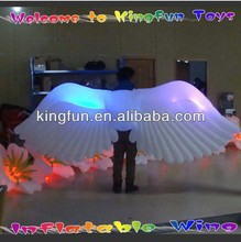Concert stage inflatable LED wing