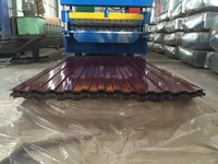 alibaba corrugated galvanized steel sheet / zinc coating corrugated steel sheet for roof price per kg / metal roofing sheet
