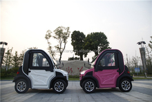 CE Approved L6e Smart Electric Car with Aluminum-Alloy Rim