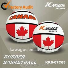 2014 USA New Christmas gift rubber basketball