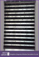 Window Embroider Curtain Blackout Fabric Standard Window Size