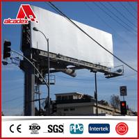 billboard advertising outdoor sign board material acp panel
