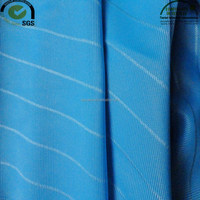 100% Polyester yellow blue knit polyester stripe fabric stripe fabric