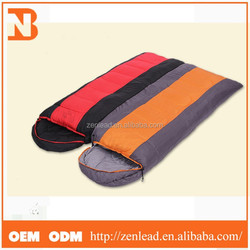 Fashionable Spliting Different Colors Sleeping Bag