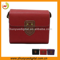 PU Leather High quality fashion Dslr Camera Bag/case Travel Photo shoulder bags for Canon/nikon/Pentax/Sony