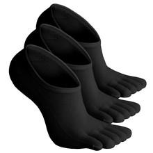 custom yoga 5 open toe five finger socks