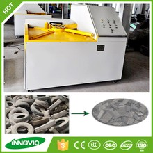 Used tire recycling crusher machine
