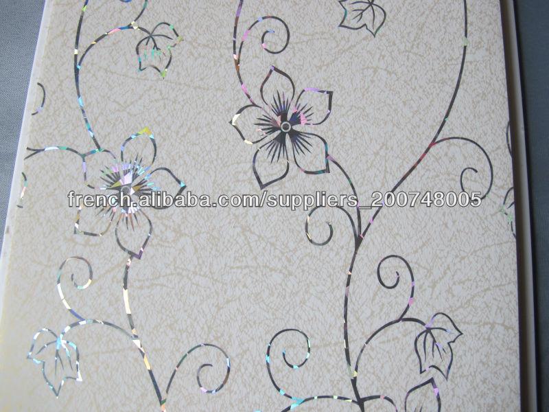 very nice pvc plafond conception feuillet panneau pvc. Black Bedroom Furniture Sets. Home Design Ideas