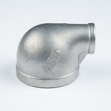 investment casting reducing 90 elbow , stainless steel pipe fittings