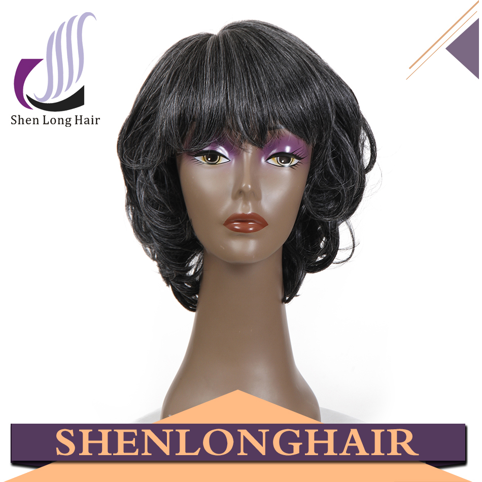 Cheap Grey Hair Wigs 110