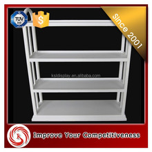 hot sale white color mdf clothing and accesoories display racks/men clothing display rack ,retail clothing store furniture