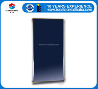 black chrome flat panel solar collector made in China