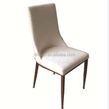 metal frame with pu cover seat strong dining chair