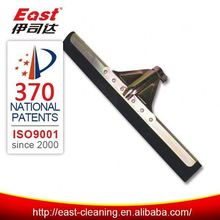 soft rubber plastic floor squeegee with long handle