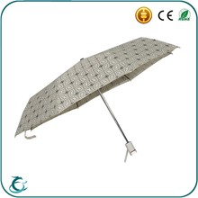 Windproof automatic foldable nice looking promotion umbrella as gift shenzhen umbrella factory