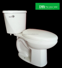 DMT-402 US Standards! WC S trap siphonic two pieces toilet with flushometer; bathroom design china suppliers