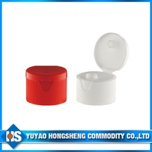 2015 New Red or White Plastic End Flip Top Cap for Bottle