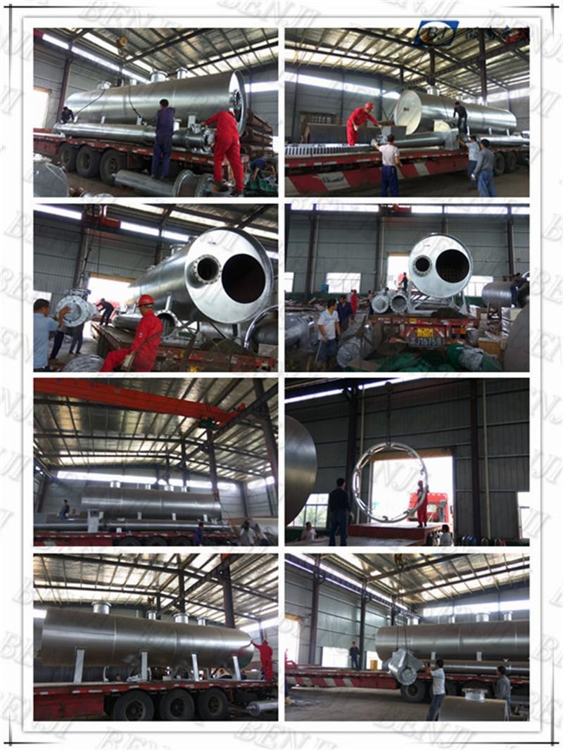 BJ5L-50-R #20 Alta capacidade contínua de resíduos de pneus usina de reciclagem