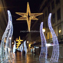 Christmas street light decoration/ led street motif lights for sale