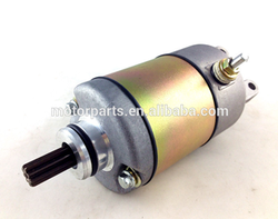 ATV electric starter motor/motorcycle performance parts with 9 teeth