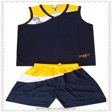 Top level new products wholesales custom basketball wear