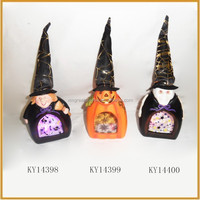 ceramic witch with tealight holder for halloween witch decoration