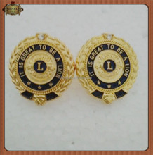 High Quality It Is A Great To Be A Lion Pins ,3d Egle Lapel Pin