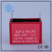 Best Selling CBB61 Sh Polypropylene Capacitor