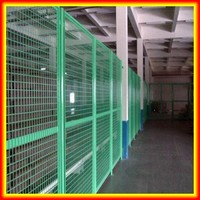 China Factory Supply High Quality Framed Fence Netting / High Security Safety Expanded Metal Fence