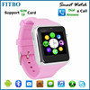 For Iphone 6/Samsung Galaxy S4 S5 S6 , Boys Girls new model watch mobile phone