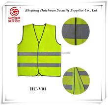 Colorido colete de segurança refletivo de segurança roupas uniforme com o logotipo personalizado