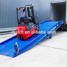Rampa Hidráulica movible 8t camión portátil muelle de carga